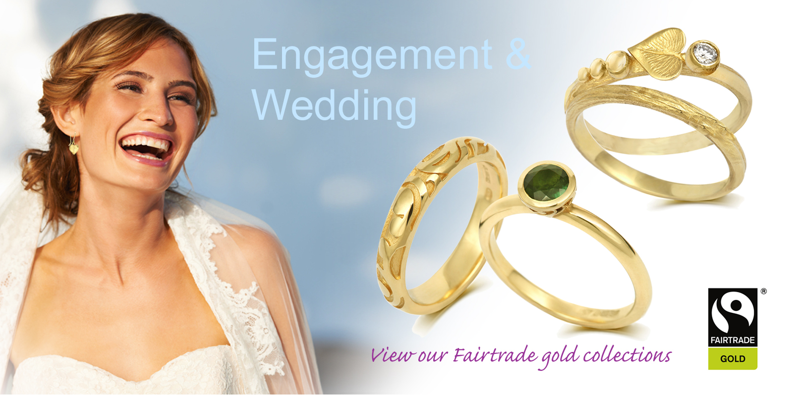 Fairtrade Gold Wedding Rings. Fairtrade Gold Engagement Rings